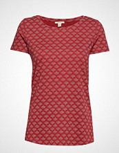 Esprit Casual T-Shirts T-shirts & Tops Short-sleeved Rød ESPRIT CASUAL