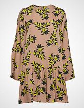 Twist & Tango Tilly Dress Sand Flower Kort Kjole Gul TWIST & TANGO
