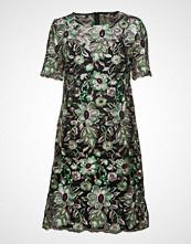 Bruuns Bazaar Tullah Celeste Dress Knelang Kjole Grønn BRUUNS BAZAAR