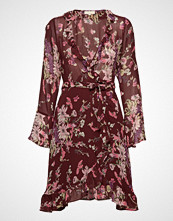 by Ti Mo Semi Couture Wrap Dress Kort Kjole Lilla BY TI MO