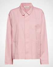 nué notes Flo Shirt Langermet Skjorte Rosa NUÉ NOTES