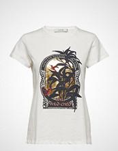 Munthe Aqua T-shirts & Tops Short-sleeved Hvit MUNTHE