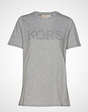 Michael Kors Ht Logo Easy Tshirt T-shirts & Tops Short-sleeved Grå MICHAEL KORS