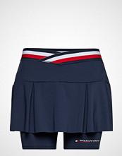Tommy Sport Skirt With Inner Sho Kort Skjørt Blå TOMMY SPORT