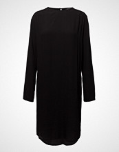 Bruuns Bazaar Liva Vibeke Dress Knelang Kjole Svart BRUUNS BAZAAR
