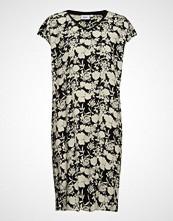 Saint Tropez Woven Dress S/S Knelang Kjole Multi/mønstret SAINT TROPEZ