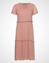 B.Young Bxtenne Dress - Knelang Kjole Rosa B.YOUNG