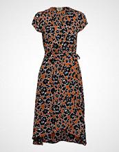 Twist & Tango Hilma Dress Knelang Kjole Brun TWIST & TANGO