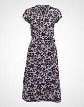 Twist & Tango Hilma Dress Knelang Kjole Lilla TWIST & TANGO