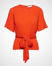 Cathrine Hammel Miami Tee-Shirt Bluse Kortermet Oransje CATHRINE HAMMEL