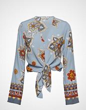 Odd Molly Cruising Around Blouse Bluse Langermet Blå ODD MOLLY
