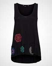 Desigual Ts Melisa T-shirts & Tops Sleeveless Svart DESIGUAL