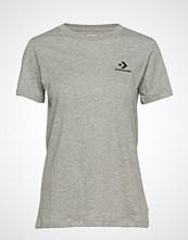 Converse Converse Star Chevron Small Chest Logo Tee T-shirts & Tops Short-sleeved Grå CONVERSE