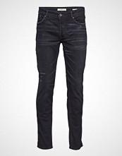 Mango Man Slim-Fit Dark Grey Wash Tim Jeans Slim Jeans Grå MANGO MAN