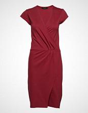 Bruuns Bazaar Tami Rosie Dress Knelang Kjole Rød BRUUNS BAZAAR