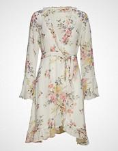 by Ti Mo Semi Couture Wrap Dress Kort Kjole Creme BY TI MO