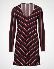 Mango Button Knit Dress Knelang Kjole Svart MANGO