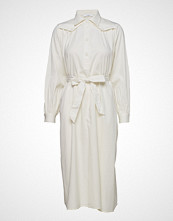 Lovechild 1979 Aurelie Dress Knelang Kjole Creme LOVECHILD 1979