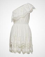 Designers Remix Dane Off-Shoulder Dress Kort Kjole Hvit DESIGNERS REMIX