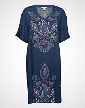 Esprit Casual Dresses Light Woven Kort Kjole Blå ESPRIT CASUAL