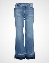 Denim Hunter Dhisla Flared Custom Jeans Sleng Blå DENIM HUNTER