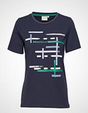 Brandtex T-Shirt S/S T-shirts & Tops Short-sleeved Blå BRANDTEX