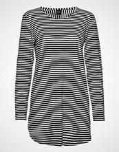 Nanso Ladies Tunic, Liitu T-shirts & Tops Long-sleeved Svart NANSO