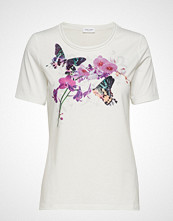 Gerry Weber T-Shirt Short-Sleeve T-shirts & Tops Short-sleeved Hvit GERRY WEBER