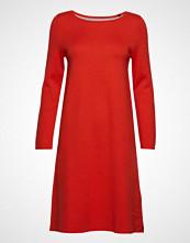 Marc O'Polo Heavy Knit Dresses Knelang Kjole Rød MARC O'POLO