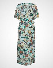 Esprit Casual Dresses Light Woven Knelang Kjole Multi/mønstret ESPRIT CASUAL