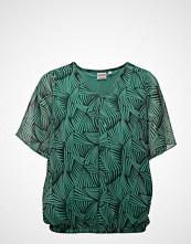 A Child Of The Jago Blouse-Woven Bluse Kortermet Grønn SIGNATURE