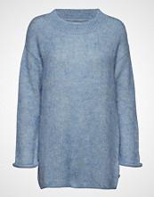Lexington Clothing Willa Mohair Sweater Strikket Genser Blå LEXINGTON CLOTHING