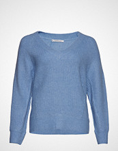 Violeta by Mango Open-Knit Sweater Strikket Genser Blå VIOLETA BY MANGO