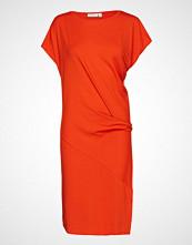 Masai Ocean Dress Knelang Kjole Oransje MASAI