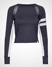 Superdry Super Speed Sport Crop Top T-shirts & Tops Long-sleeved Blå SUPERDRY