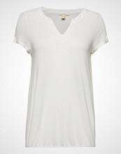 Esprit Casual T-Shirts T-shirts & Tops Short-sleeved Hvit ESPRIT CASUAL
