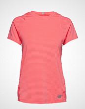 New Balance Seasonless Ss T-shirts & Tops Short-sleeved Oransje NEW BALANCE