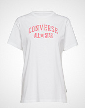 Converse All Star Relaxed Tee T-shirts & Tops Short-sleeved Hvit CONVERSE