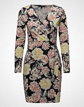 French Connection Enoshima Print V-Neck Jersey Dress Kort Kjole Multi/mønstret FRENCH CONNECTION