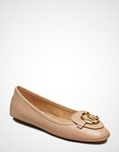 Michael Kors Shoes Lillie Moc Ballerinasko Ballerinaer Beige MICHAEL KORS SHOES