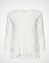 Odd Molly Step Over Blouse T-shirts & Tops Long-sleeved Hvit ODD MOLLY
