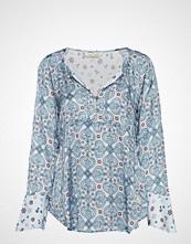 Odd Molly Unsilent Night Blouse Bluse Langermet Blå ODD MOLLY
