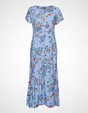 B.Young Byhailey Long Dress - Maxikjole Festkjole Blå B.YOUNG