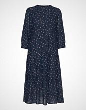 Lollys Laundry Olivia Dress Knelang Kjole Blå LOLLYS LAUNDRY