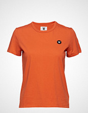 Wood Wood Uma T-Shirt T-shirts & Tops Short-sleeved Oransje WOOD WOOD