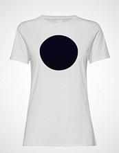 Boss Casual Wear Teround T-shirts & Tops Short-sleeved Hvit BOSS CASUAL WEAR
