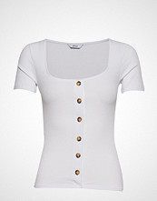 Envii Enabbey Ss Tee 5923 T-shirts & Tops Short-sleeved Hvit ENVII