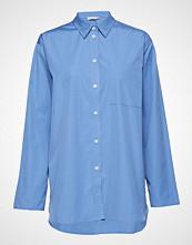 Filippa K Poplin Shirt Langermet Skjorte Blå FILIPPA K