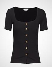 Envii Enabbey Ss Tee 5923 T-shirts & Tops Short-sleeved Svart ENVII
