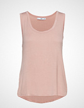 Mango Fine Knit Top T-shirts & Tops Sleeveless Rosa MANGO